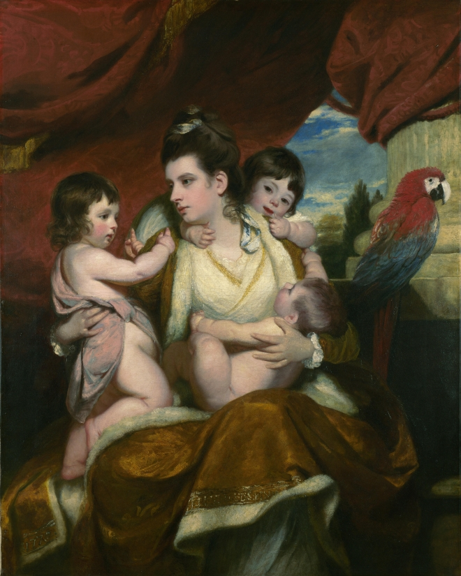 Lady Cockburn and Her Three Eldest Sons