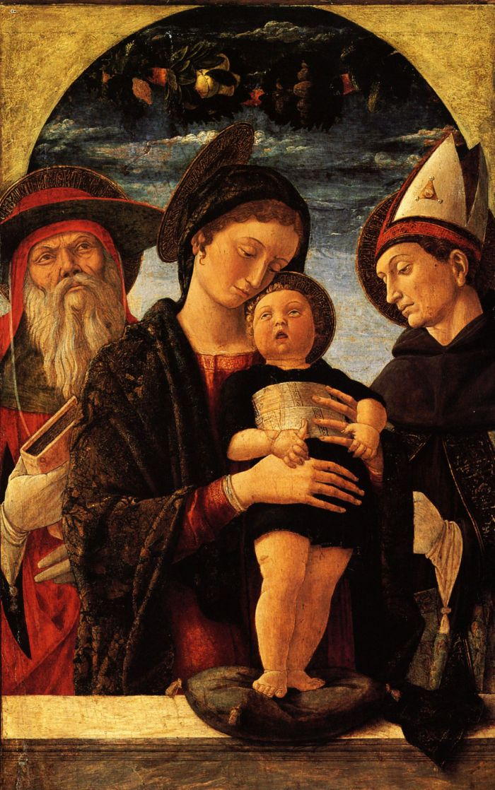 Madonna col Bambino e i santi Girolamo e Ludovico