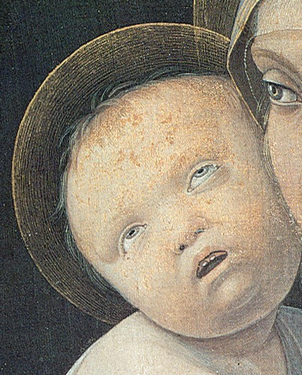 Madonna con Bambino (In zoom)