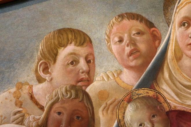 Madonna dell'Umiltà con angeli e santi carmelitani (In zoom 2)
