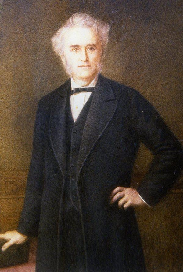 Retrato del Dr. John Langdon Down