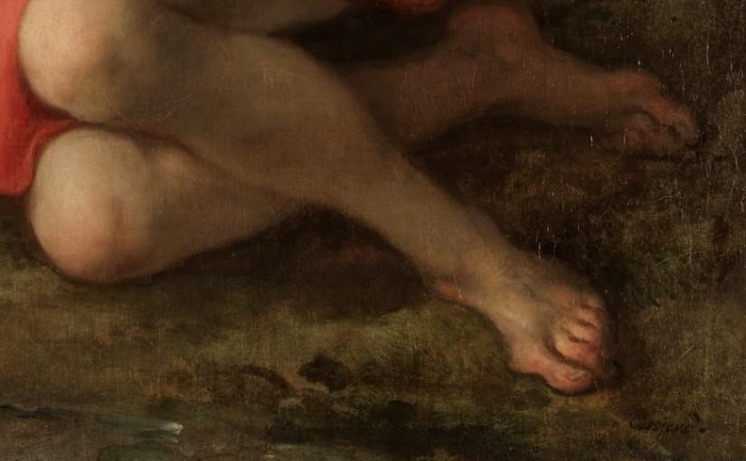 El irónico Hallux valgus del Narciso deCossiers