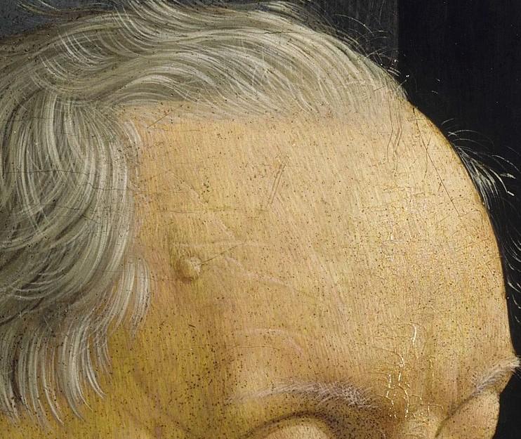 Ritratto di nonno con nipote (In Zoom 3)