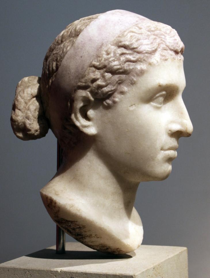 Busto de Cleopatra VII.