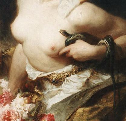 El Ofidismo y la muerte deCleopatra