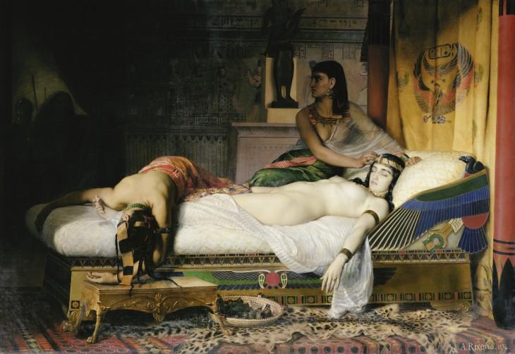 Rixens Mort de Cléopâtre
