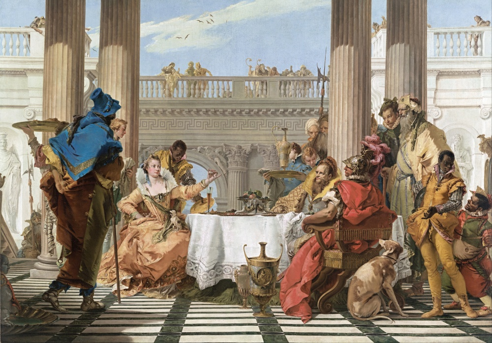 The Banquet of Cleopatra Giambattista Tiepolo.jpg