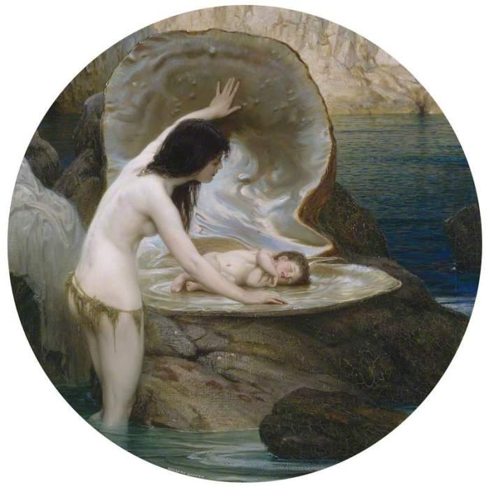 Draper, Herbert James, 1864-1920; A Water Baby