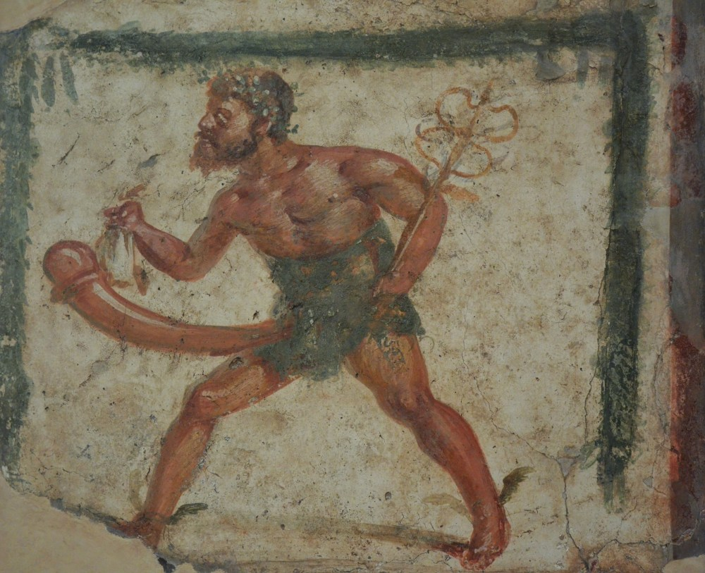 Fresco de Príapo con los atributos de Mercurio.jpg