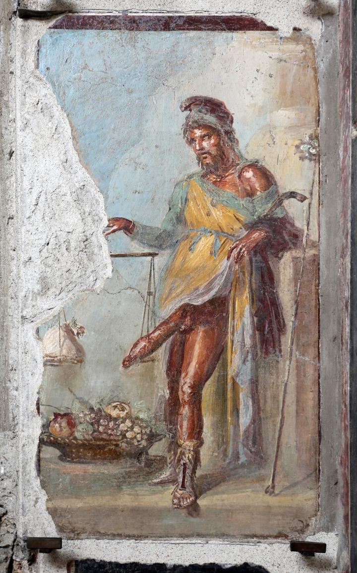 Fresco de Príapo